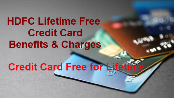 HDFC Lifetime Free Credit Card